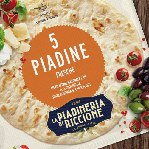 La Piadineria di Riccione Packaging Foolbite
